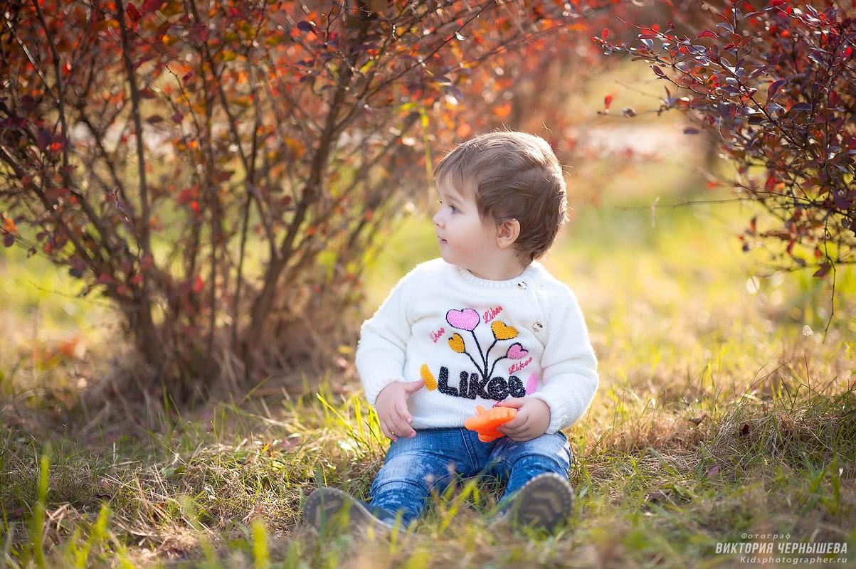 фото девочки 1 год