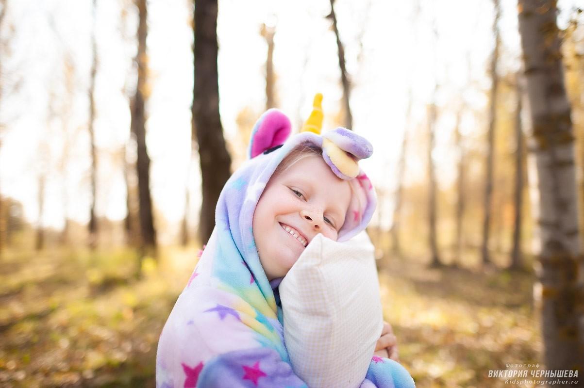 Осенняя фотосессия детей
